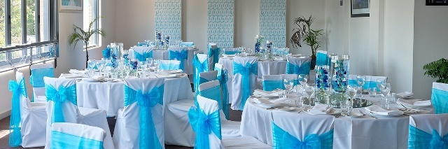 #wedding #sashes #centrepiece #vases