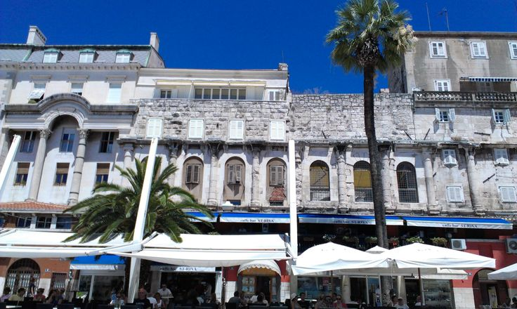 Riva Split -- Seaside promenade of Split #Croatia  http://www.flyeattravel.com/top-reasons-visit-croatia-summer/