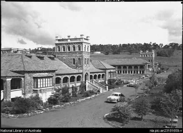 Hurley, Frank, 1885-1962. Bindoon Boys' Home [Western Australia] [picture]