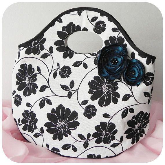Nina Handbag , back to School bag PDF Pattern and Tutorial multipurpose bag, lunch bag, easy sew, 2 size options, children, FREE Shipping. $8.90, via Etsy.