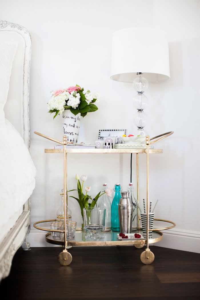Accents | Bar cart side tables