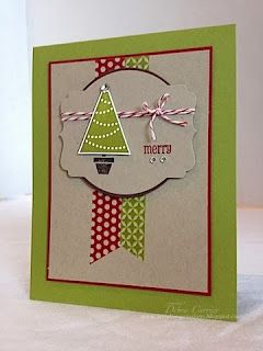 Stampin' Up! Christmas by ARTfelt Impressions: