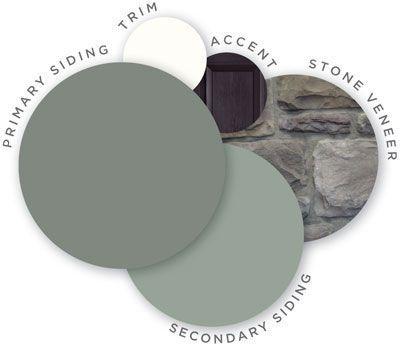 house vinyl siding color schemes - Google Search
