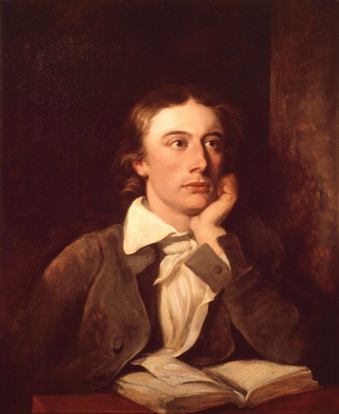 "Keats on the Joy of Singledom and How Solitude Opens Our Creative Channels to Truth and Beauty. ""The roaring of the wind is my wife and the Stars through the window pane are my Children… I do not live in this world alone but in a thousand worlds.""  Portrait of John Keats by William Hilton"