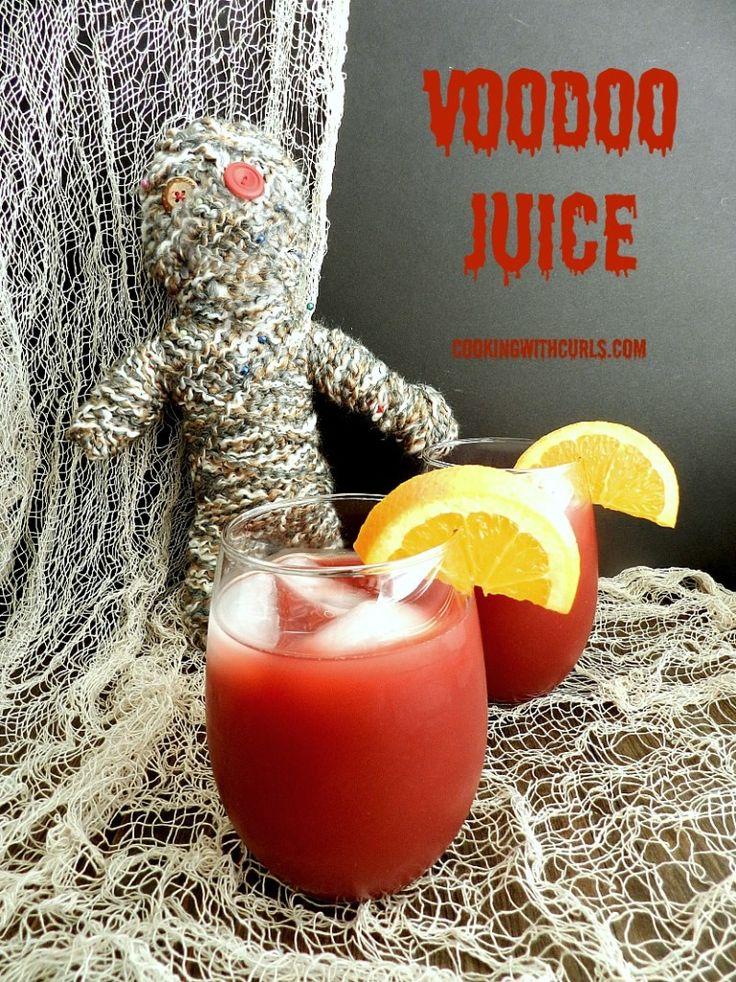 Voodoo Juice cookingwithcurls.com #cocktail #Halloween