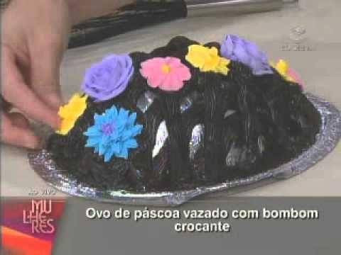 ▶ Eduardo Beltrame ensina a fazer Ovo de Páscoa Vazado com Bombom Crocante - YouTube