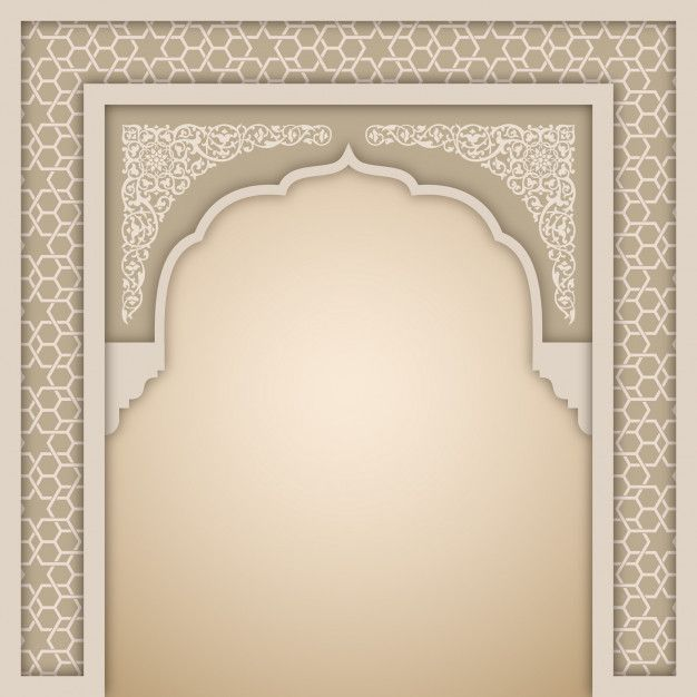 Islamic Arch Design Template Poster Background Design Design Template Flower Background Wallpaper