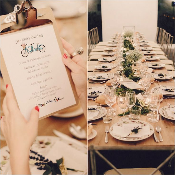#BodaSomethingBlue, Decoración de Bodas, Wedding Planner Madrid, Organización de Bodas, Mesas largas de madera, Boda rústica, Rustic Wedding
