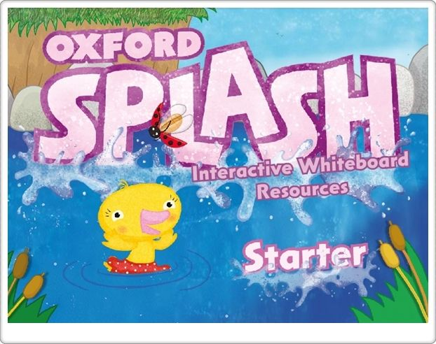"""""""Oxford Splash Starter"""". Materiales y actividades interactivas complementarias de Inglés de Educación Infantil de 3 años."""