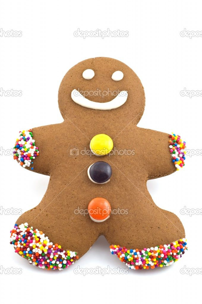 Christmas gingerbread man decorations - Decorations for gingerbread man ...