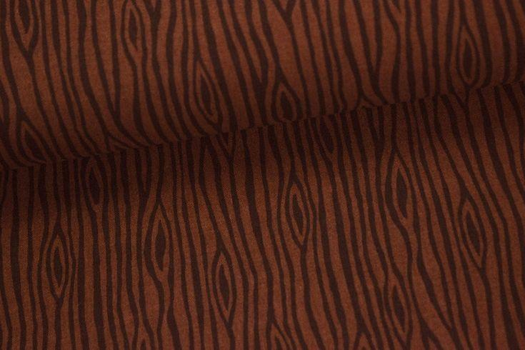 stoff holzoptik dunkles holz dunkel braun auf alles fuer modern fabrics. Black Bedroom Furniture Sets. Home Design Ideas
