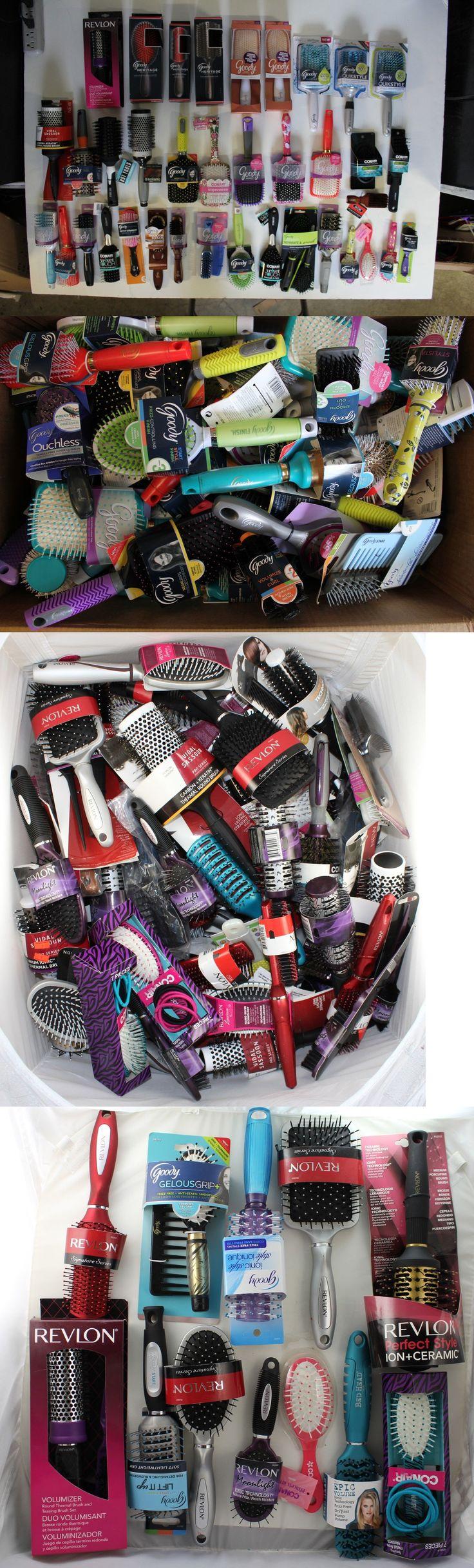 wholesale Hair Care: Bulk Wholesale Lot Of 100 Goody, Conair, Revlon, Vidal Sassoon Women Hair Brush -> BUY IT NOW ONLY: $150.0 on eBay!