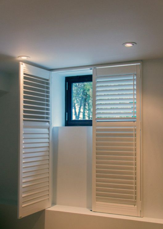 Fresh basement window treatment shutters - Simple types of blinds and shades Model