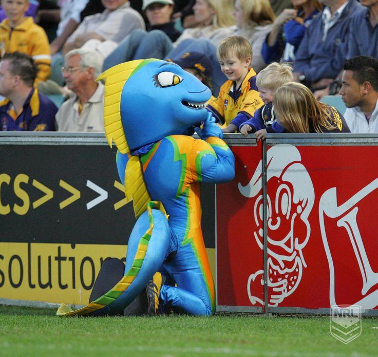 Parramatta Eels Mascot