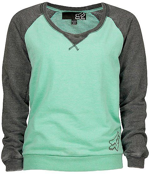 Fox Fueled Sweatshirt. so cute and cozy looking! And love the color!