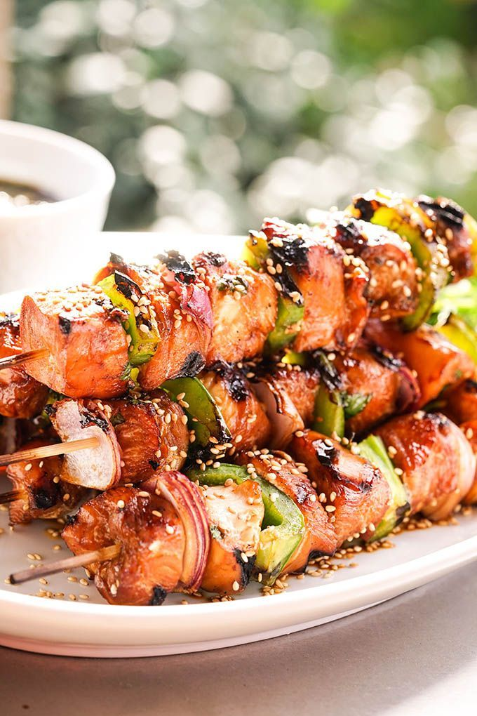 Teriyaki Chicken Skewers Recipe Teriyaki Chicken Skewers Grilled Chicken Recipes Bbq Recipes