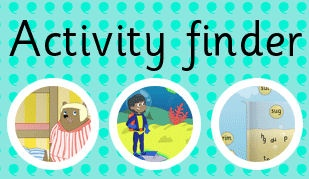The TES iboard activity finder: the easy way to find the interactive resource you're looking for!