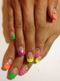 Pictures : French Manicure Designs and Ideas - 91