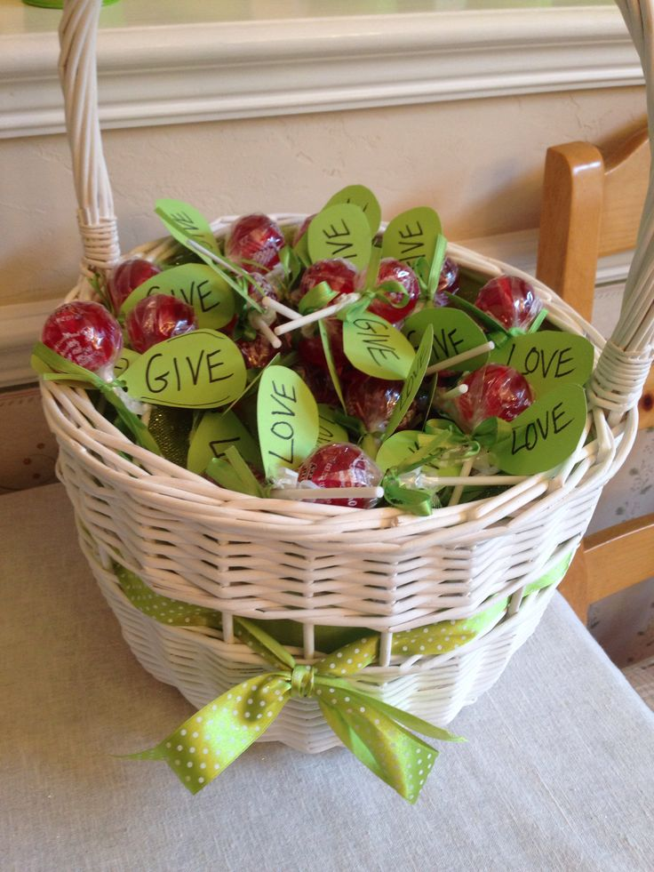 The Giving Tree Baby Shower favors