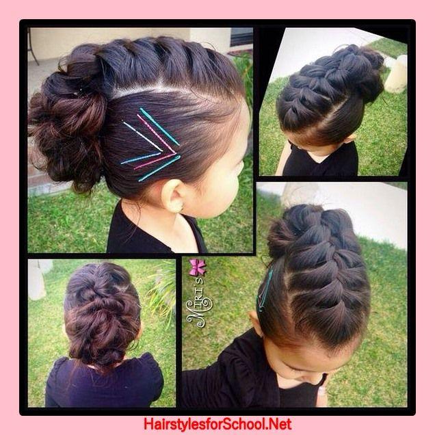 Awesome Hairstyles For Children In School 2017 Baby Girl Hairstyles Natural Hairstyles Runnerswayorg