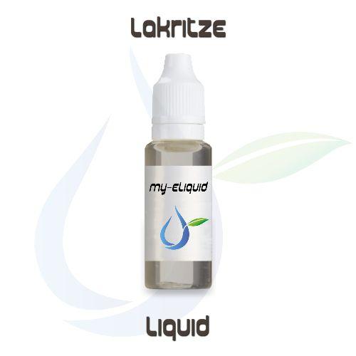 Lakritze Liquid   My-eLiquid E-Zigaretten Shop   München Sendling
