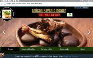 African Traditional Psychic Healer Sangoma Inyanga +27814582885 - Johannesburg - free classifieds in South Africa
