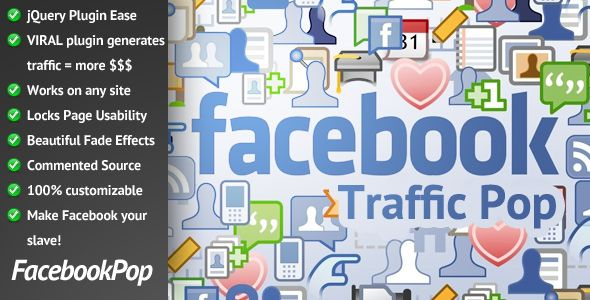 drive traffic to your fan page info
