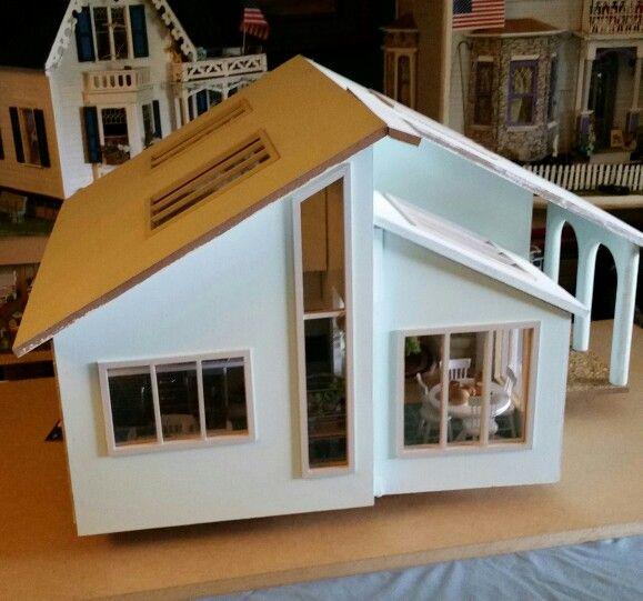 Contemporary ranch dollhouse | contemporary ranch ...