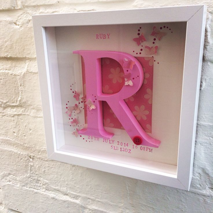 Wooden initial frame