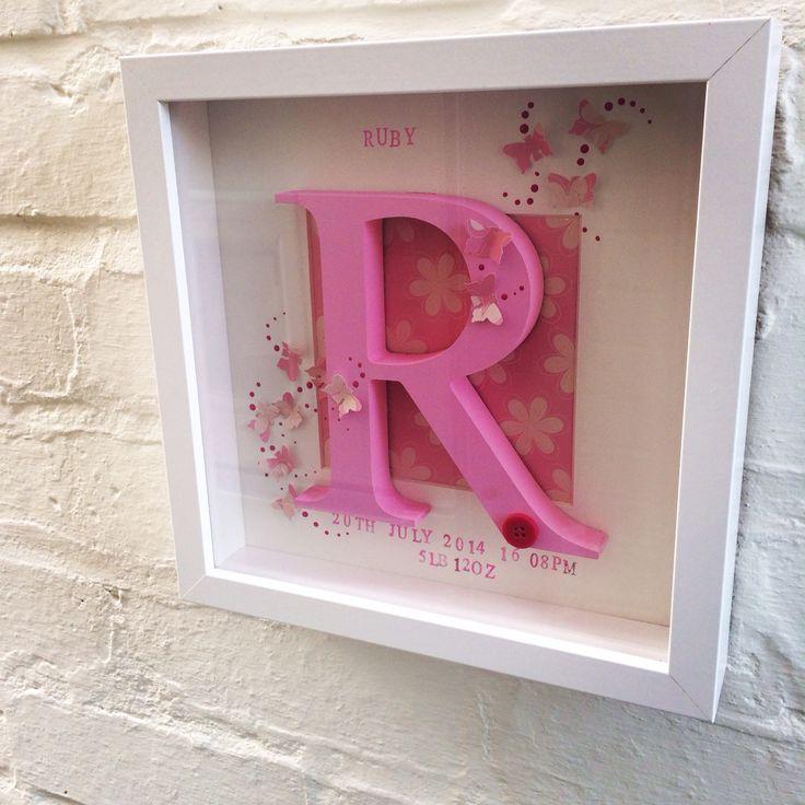 15 best Boxed framed letters images on Pinterest | Framed letters ...
