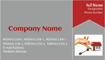 Property Dealer business visiting cards printasia.in
