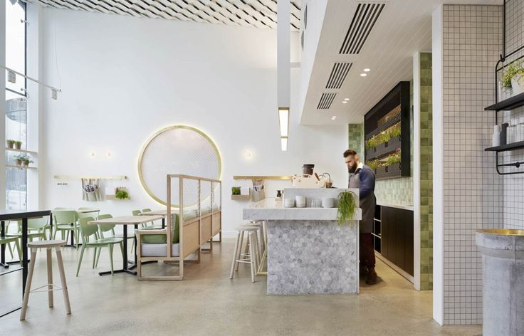 The Kettle Black in Melbourne blurs the lines between cafe and restaurant - Vogue Living