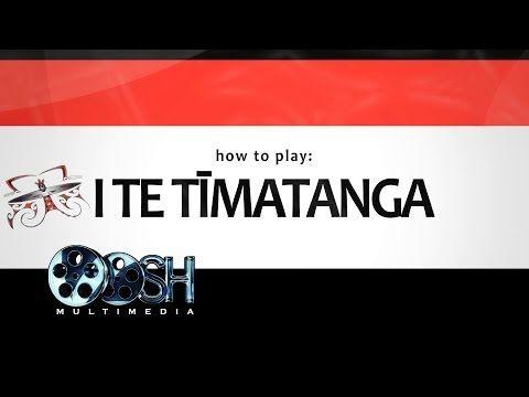 I Te Tīmatanga - How to Play - YouTube