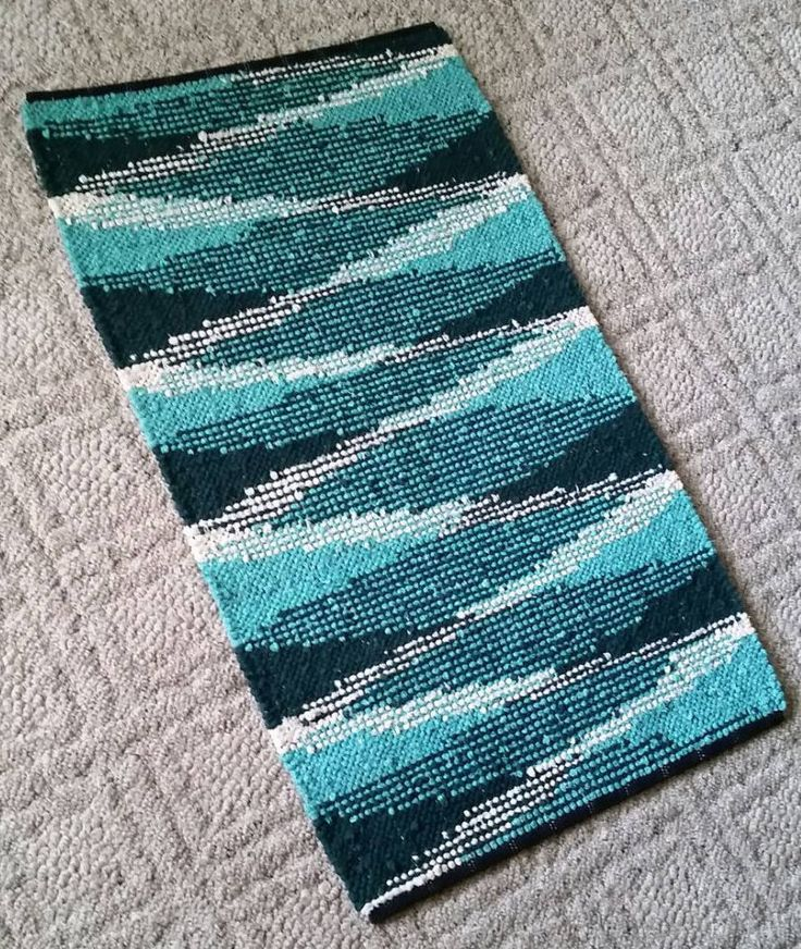 Humble Shadows Rag Rug  // Sock Looper Pattern // Sock Looper Design // Instant Download // PDF Weaving Pattern // Three Color Pattern by GrannysRecycledRags on Etsy