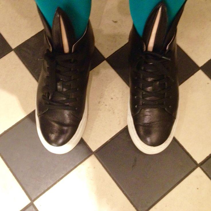 Bunny sneakers by Minna Parikka, photo Viivi Lehto