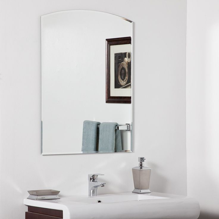 Photo On Decor Wonderland SSM Katherine Modern Bathroom Mirror Lowe us Canada