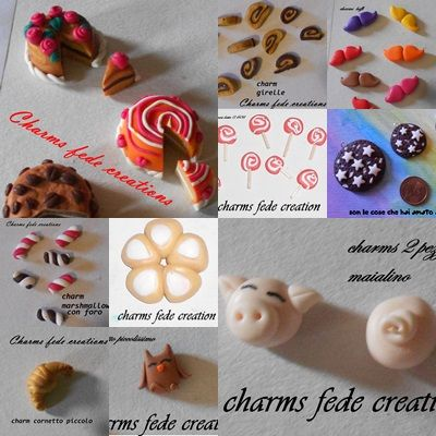 charms in fimo