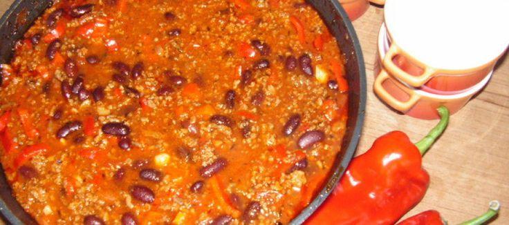 Chili con carne van mamma