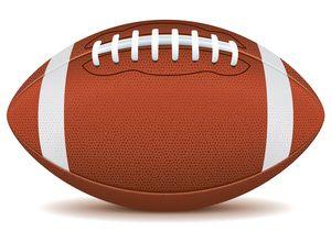 Football image - vector clip art online, royalty free & public domain