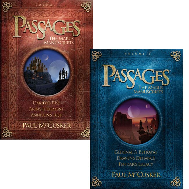 Enter the land of Marus, where Biblical adventures are re-imagined in fantastical new settings. Three stories in each book.