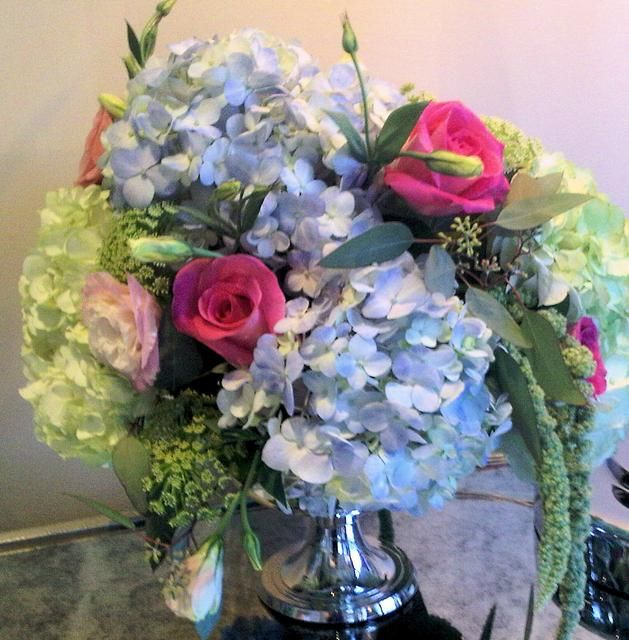 Wedding Altar Flowers Price: 17 Best Images About Blue Wedding Flowers On Pinterest