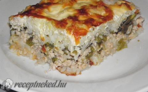 Tárkonyos rakott zöldbab recept fotóval