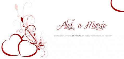 Svatební oznámení 47