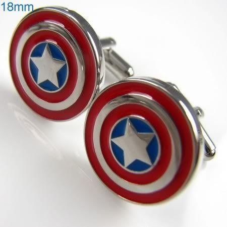 New Captain America Marvel Comics Formal Wear Cufflinks Cuff LinksComics Formal, Formal Wear, Wear Cufflinks, Captain America, Marvel Comics, Cufflinks Cuffs, Cuffs Link, Cuff Links, America Marvel
