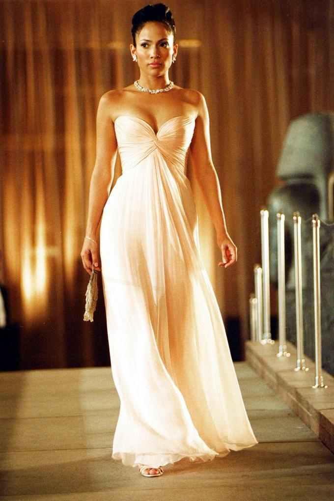 "stunning Jennifer Lopez in ""Manhatten Love Story"", amazing dress"