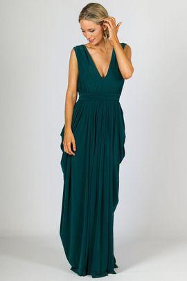 Aphrodite Maxi Dress - Emerald