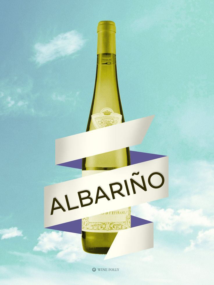 Albariño wine from Spain 7 Spanish Wines (Other Than Tempranillo) Worth Drinking Right Now @Winefolly