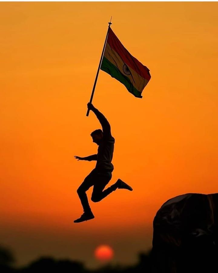 India National Flag India Indian Army Wallpapers Silhouette People