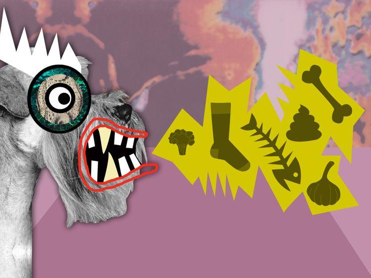 Monster Moogle Collage Art