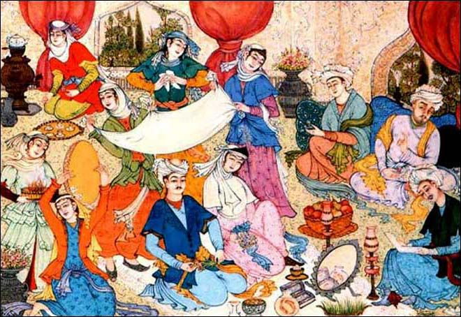 persian wedding in painting iran amp wedding pinterest